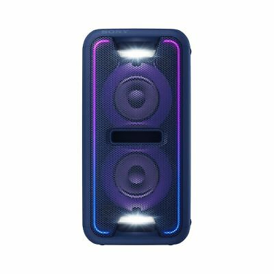 SONY GTKXB7L High Power Home Audio Party System with Bluetooth (Blue) (Seconds)