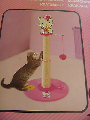 Arbre A Chat Hello Kitty 65 X 35 Cm Griffoir A Chat