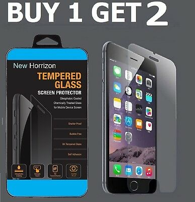 100% Genuine Tempered Glass Screen Protector Film For Apple Iphone 6S - New