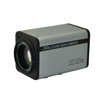 HD 1920x1080P 2MP HD-AHD 30X Optical Zoom Digital IR-CUT CCTV Box Camera