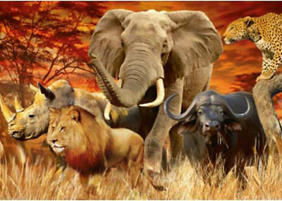 Ravensburger The Big Five 1000pc Jigsaw Puzzle