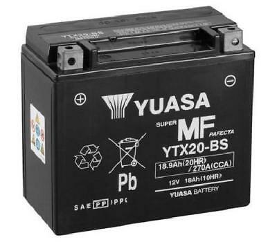 YTX20-BS Yuasa YTX20-BS Motorbike Motorcycle Battery Inc Filling Kit