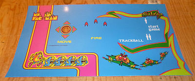 Multicade Galaga Ms Pac Man Control Panel Overlay trackball reunion 20th Anniver