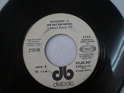 MAQUINA Look Away Your Happiness SPAIN 45 1969 Psych Prog DIABOLO