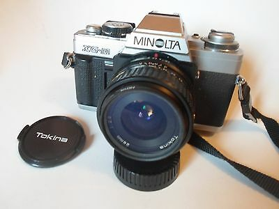 Minolta  XG-M 35mm SLR Camera With Lens USED BUT IN EXCELLENT CONDITIO