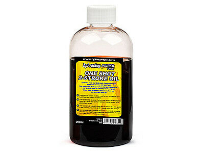 HPI 2-Stroke One Shot Engine Oil 200ml Petrol 1/5th scale HPI Baja - 101911