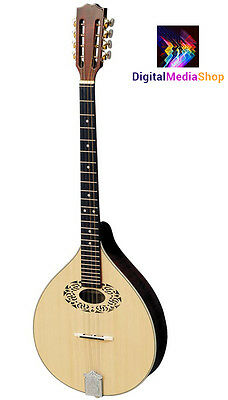 Octave mandolin, short scale Irish bouzouki, made in Romania by Hora, solid wood