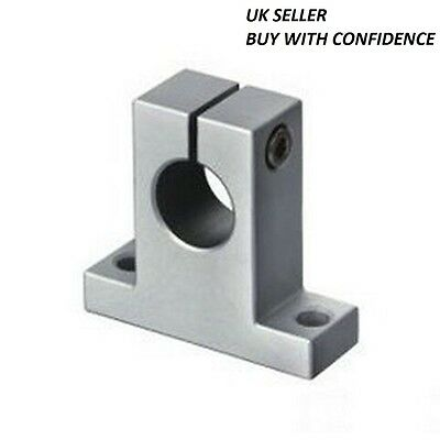 SK12 linear rail shaft Mounting Blocks support XYZ table CNC Router. ID 12MM