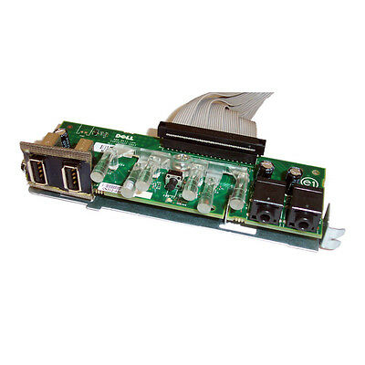 Dell OptiPlex 360 DCSM Front Power, USB and Audio Board TP004 With Cable XT029