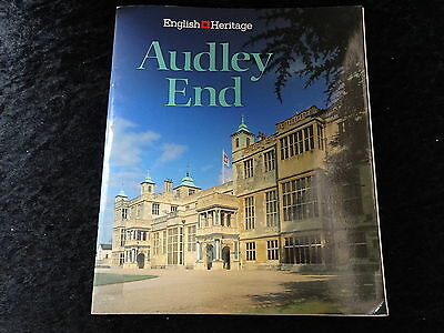 1990 Reprint Booklet Guide to Audley End, English Heritage