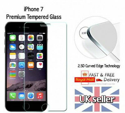 10x ULTRA SLIM iPhone 7 REAL Tempered Glass Screen Protector - Apple iPhone7