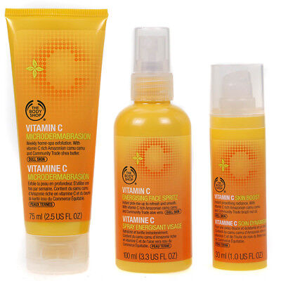 The Body Shop Vitamin C Collection Microdermabrasion Energisant Visage Vapor