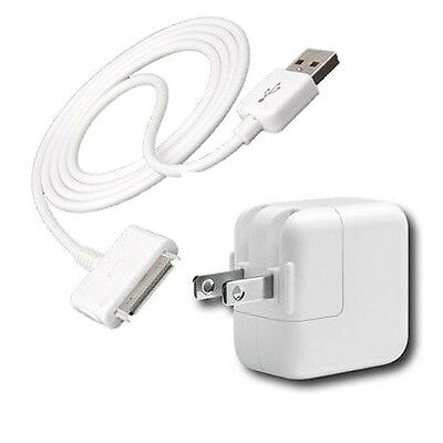 BRAND NEW Apple iPad/iPod/iPhone 2.1V Charger - Adapter + USB Cord - Original