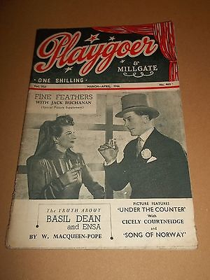 Playgoer  ~ March / April 1946 Magazine #463 Rare