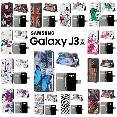 Etui housse coque porte cartes XXL Colors Samsung Galaxy J3 2016 Wallet Case