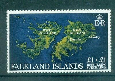 Carte - Map Falkland Islands 1982