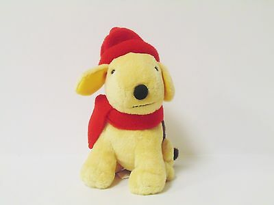 "2005 Spot The Dog By Eric Hill With Red Hat And Scarf 6"" Plush Toy"