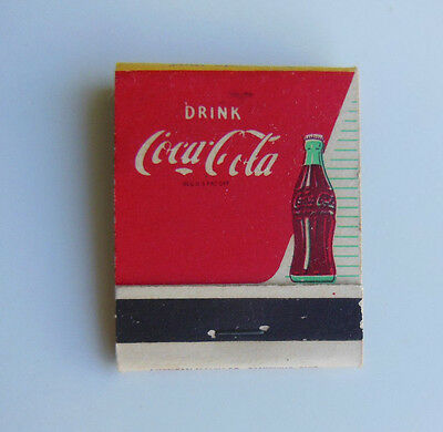 1950's Unstruck Coca-Cola Matchbook, Coke Puts You At Your Sparkling Best