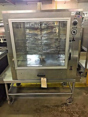Deluxe Bq-3 Electrical Rotisserie Basket Style - Counter Top  #10176