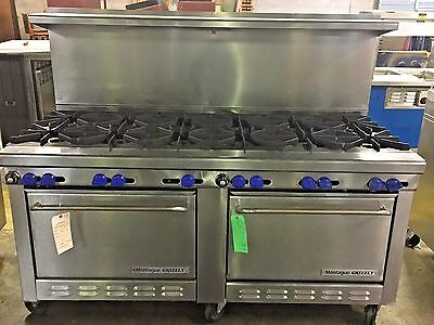 MONTAGUE GRIZZLY, G-626-12 Natural Gas 12-Range with 2 Ovens