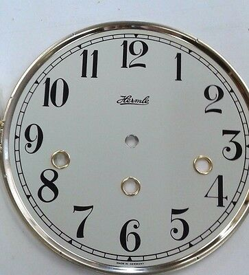 Hermle- Mantel  clock dial  with glass 180 mm for 1050 movement