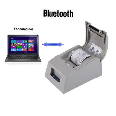 58mm Bluetooth 4.0 Wireless Receipt POS Thermal Printer For ios&Android US OB