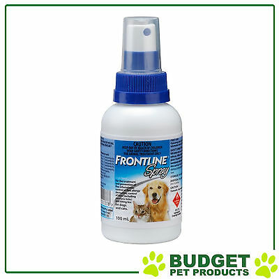 EXP: 04/2019 - Frontline Spray For Dogs And Cats 100ml