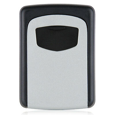 Wall Mounted 4 Digit Combination Key Storage Security Safe Lock Outdoor F6