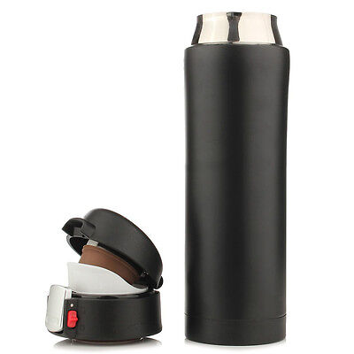 500ML Travel Mug Tea Coffee Water Vacuum Cup Thermos Bottle Stainless Steel F6