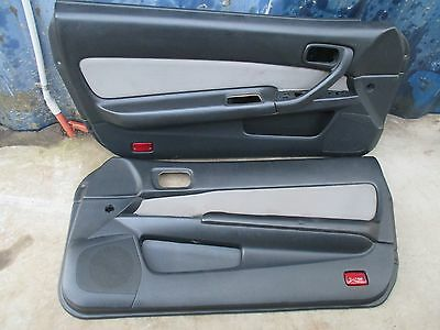 Nissan Skyline R34 Coupe - Interior Door Card Trims Panel - Lhs Rhs Pair Cards