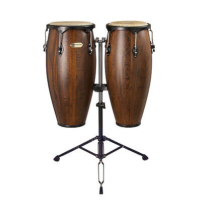 Coppia Congas Soundsation  Sco10M-Mh 10 +11″ Mango Satin Natural  Hw-Bk