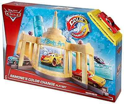 Ramones Auto Body Shop Playset Disney Pixar Cars Color Change Collectible Toy