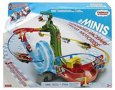 Thomas the Train MINIS Motorized Raceway with Vertical Drop and 360 Degree Track