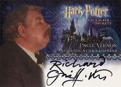 Harry Potter Chamber of Secrets CoS Richard Griffiths / Uncle Vernon Auto