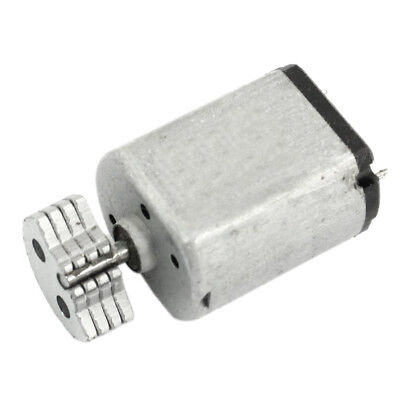 DC1.5V-9V 0.08A 3200RPM Output Speed Micro Vibrating Motor, 18x15x12mm Silver F6