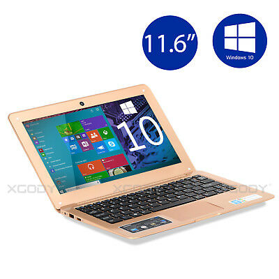 "Newest 11.6"" Windows 10 Intel Quad Core 32GB Laptop Bluetooth 4.0 WIFI SOSOON"