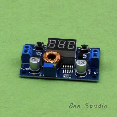 LED Display 5A DC Step down Adjustable Buck Voltage Regulator Module 5V 12V 24v