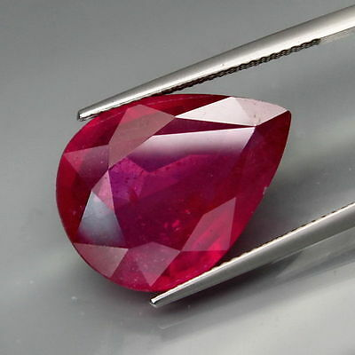 15,68 CTS EXCELENTE.RUBI  NATURAL - BIG Top Red Ruby Mozambique