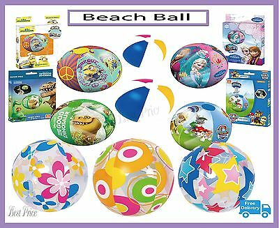 Brand New Multiple Design Inflatable Blow Up Beach Ball For Holidays and Pools
