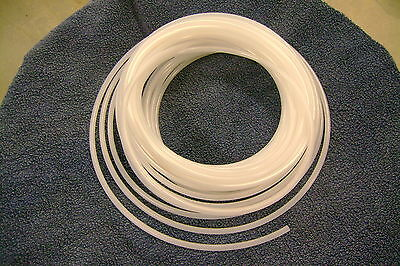 """1/4"""" Pneumatic Polyethylene Tubing for Push to Connect Fittings Clear PE0417-N"""