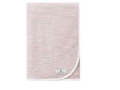 bellybutton Jerseydecke white / taupe stripped   -  N E U -