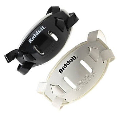 Riddell Hard Cup Chin Strap Black or White Small Med or Large NWT