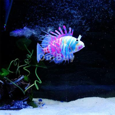 Aquarium Réservoir silicone Lionfish artificielle snailfish poisson d'eau