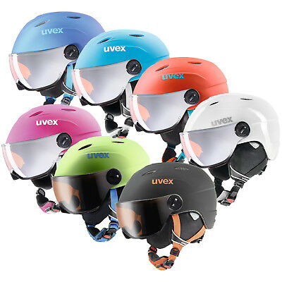 Uvex Junior Visor Pro - Junior Skihelm mit Visier