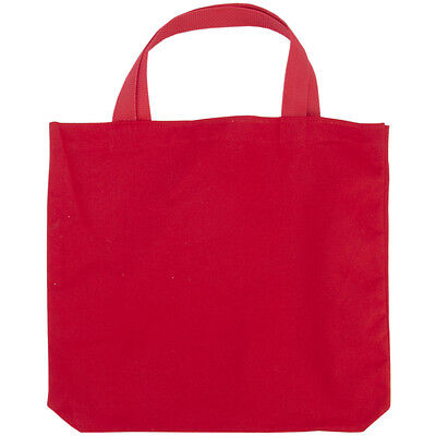 "Medium Tote 13.5""X13.5""X2"" Red MRMEDT-401D"