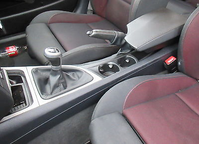 Black Arm rest & Centre Console With Cup Holders For BMW E81 E87 E82 1 Series
