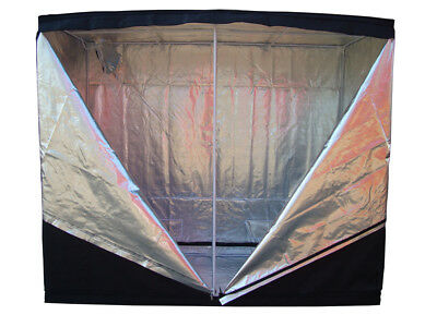 FoxHunter Hydroponics Dark Room Grow Tent Bud 240 X 120 X 200 CM 600D THICK