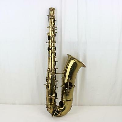 Antique Frank Holton Brass Alto Saxophone FOR PARTS