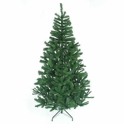 Green Traditional Christmas Tree Imperial 230 Tips  Artificial Tree Metal Stand