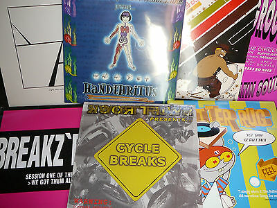 DJ Turntablist Hip Hop battle wax LOT 19 records for scratching